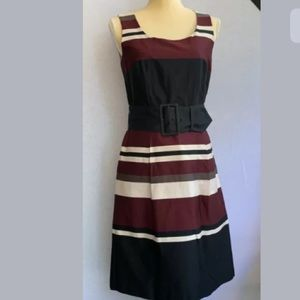 H&M sleeveless dress with belt, casual or formal